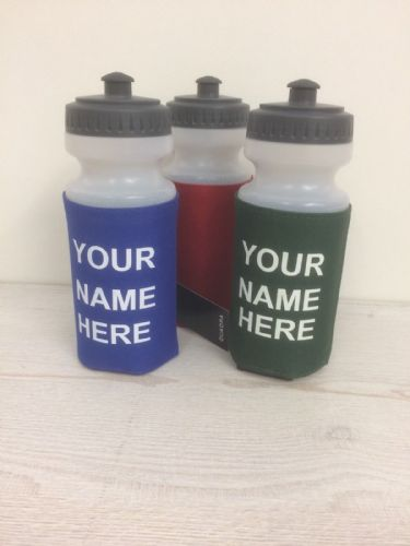 woodlands school  water bottle with printed name